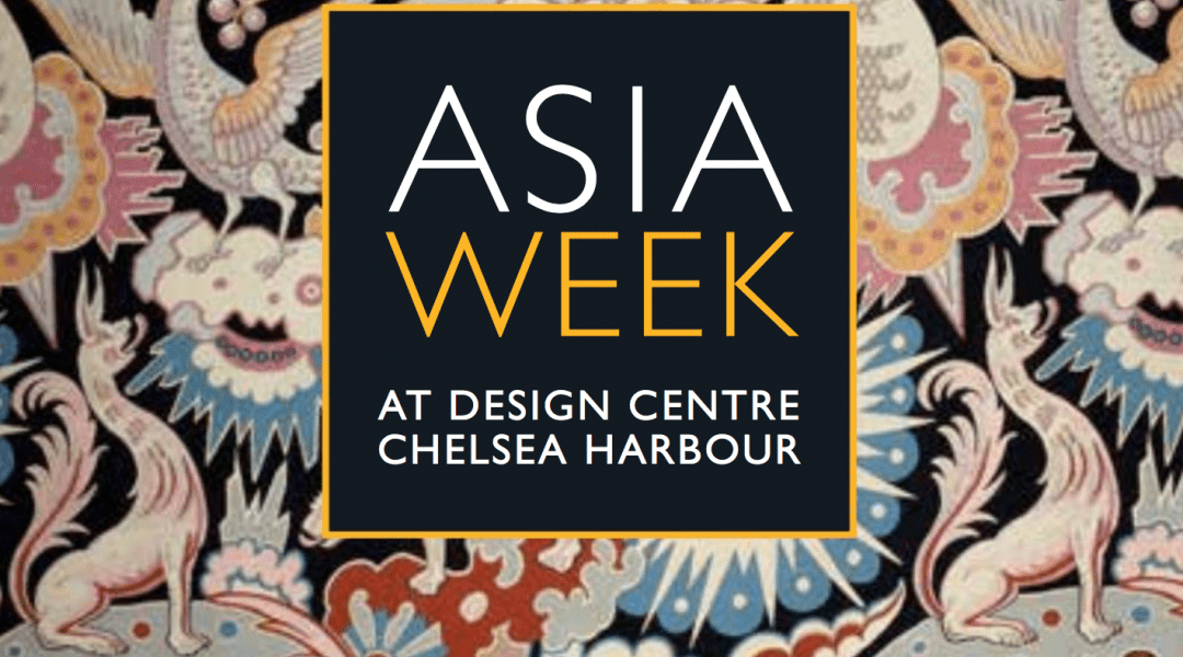 Introduction to Meditation and a Meditative Journey for Asia Week at Design Centre, Chelsea Harbour