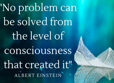 """A new, conscious economy is emerging where more of us are asking how we can be of service, do good and do well, and align with our own purpose while taking care of our inner and outer worlds. In Einstein's famous words, """"No problem can be solved from the same level of consciousness that created it."""""""