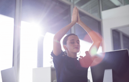 Work with Hema to experience the transformative power of gyana yoga much more than wellness at work